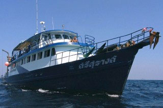 MV Scuba Adventure for Phuket liveaboard diving safaris