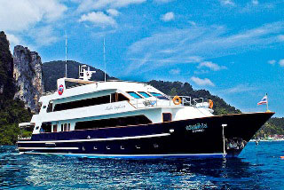 The Thailand liveaboard, MV Scuba Explorer