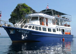 Similan liveaboard, the Sea of Fantasy