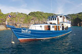 Burma liveaboard, MV Thai Sea
