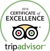 Dive The World Trip Advisor Award 2016