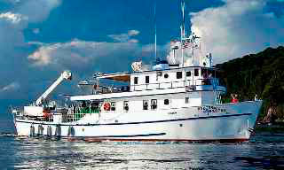 The MV Undersea Hunter for your Cocos diving safaris