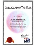 Dive The World Annual Liveaboard of the Year Award