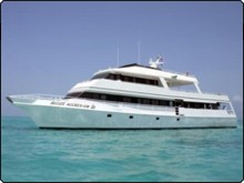 Liveaboard boat, the Belize Aggressor