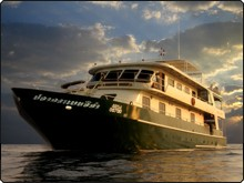 The Black Manta, Thailand liveaboard