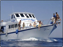 Board the MV Pegasus for Sharm El Sheikh diving day trips in the Red Sea