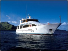 Fiji liveaboard the Island Dancer II - another view