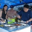 Open air dining on the M/V Dolphin Queen