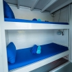 Standard twin bunk cabin on Epica