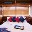 Aggressor's Master stateroom features twin beds which convert to a queen bed