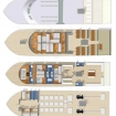 Layout of the 4 decks