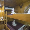 Budget cabin on lower deck