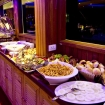 Buffet-style dining on your Maldives cruise