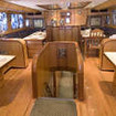 Dining facilities in Egypt's Red Sea onboard Miss Noran