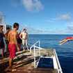 The dive platform, M/V Sea Hunter - Cocos Island, Costa Rica