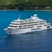 Another view of M.V. Reef Endeavour cruising in Fiji