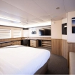Space and luxury in the Master Suite on the upper deck