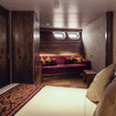Cowrie suite with day bed and portholes