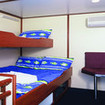 Deluxe double/twin cabin onboard the Taka liveaboard