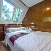 Master cabin with panoramic windows
