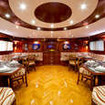 Dining onboard Saphir during your Red Sea liveaboard cruise