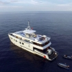 The M/V DiveRACE Class E liveaboard - another view