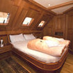 Royal double bed suite cabin
