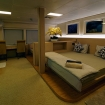 The outrageously spacious Stateroom on Solitude Adventurer