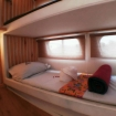 One of the Bunk bed rooms on MV Sea World I