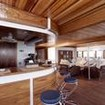 The bar on board Dream Catcher II