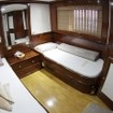 One of the Standard twin bed cabins on the Emperor Superior