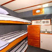 Standard twin bunk bed cabin