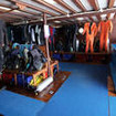 Prepare for West Papua, Raja Ampat diving on the dive deck