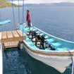 Komodo diving tours with SMY Mangguana dive tender