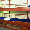 Great Barrier Reef liveaboard, Taka's Standard twin cabin with shared facilites