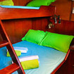 Cabins 'B' & 'C' - Standard double/twin bed cabins on Empress II