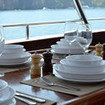 Al fresco dining on your cruise