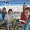 Cocos liveaboard, Okeanos Aggressor I's open air buffet
