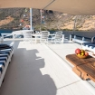The sundeck offers light and shade