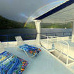 The sun deck, MV Undersea Hunter