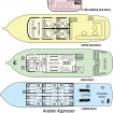 Deck plans of Arabian Aggressor