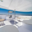 The flybridge area of this excellent liveaboard