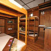 The M/V White Manta's Standard quad/4-share cabin