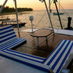 Relax on the sundeck on Indonesia liveaboard MV Empress II