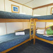 4-bed cabin,with 4 bunk beds