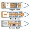 MV Mermaid II deck layout