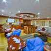 The Red Sea liveaboard, Emperor Superior's lounge area