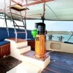Take in the passing Indonesian views from the shaded deck aboard the S/Y Adelaar