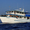MV Sea World cruising the Mergui Archipelago