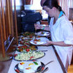 Buffet-style dining on your Egypt tour